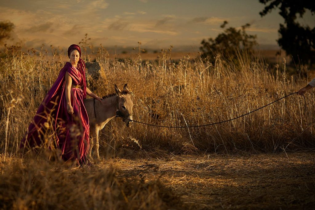 """Woman of Shunem """"Then she saddled an ass, and said to her servant: 'Drive, and go forward; slacken me not the riding, except I bid thee.'״ Kings 